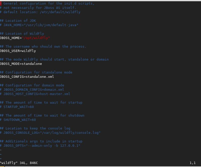 Install Wildfly 10 1 as a service on Ubuntu 17 10 – DSWSIS : DATA BIT