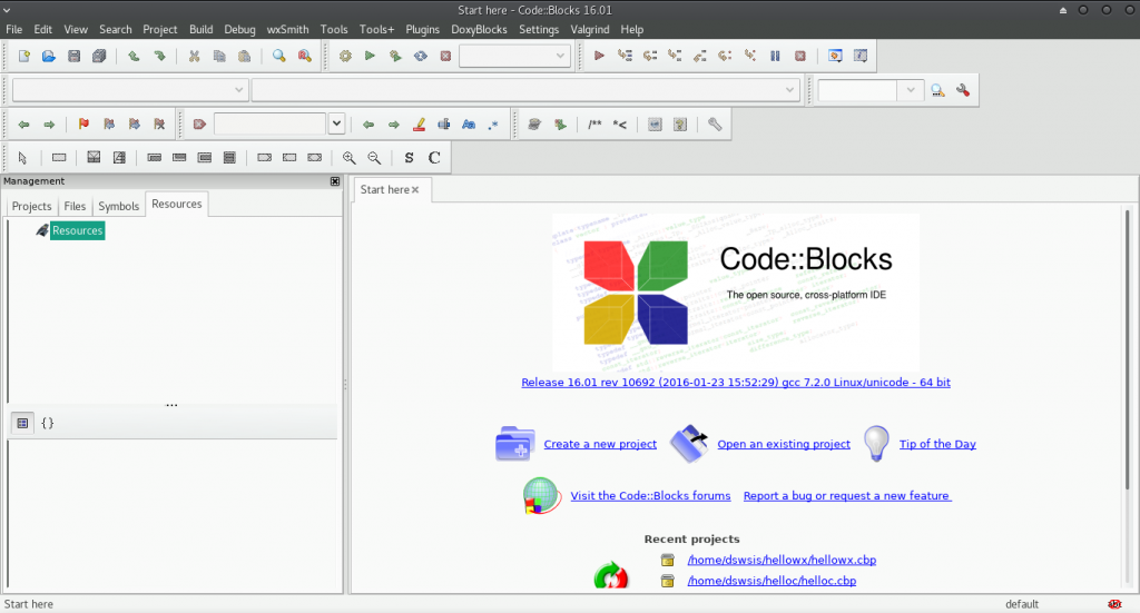 Starting GUI Programming using Code::Block and WxWidgets